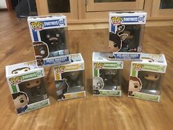Funko Pop Fortnite Lot Of 6 Including Merry Marauder And Red-nose Raider