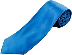 100 Silk Extra Long Premium Tie For Big And Tall Men - Solid Color Mens Necktie