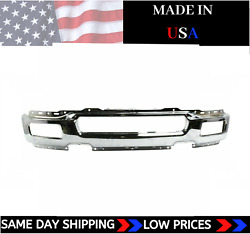 New Usa Made Chrome Front Bumper For 2004-2006 Ford F-150 Ships Today