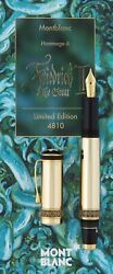 Stylo Plume Friedrich Ii The Great Patron Of Art 4810 Limited Edition