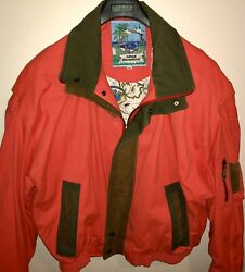 Rare Mens Overland Outfitters Xxl Yachting Sailing Jacket Full Zip Cold Weather