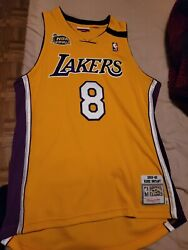 Kobe Bryant Lakers Mitchell And Ness 1st Edition 2000 Finals Jersey Size 44l
