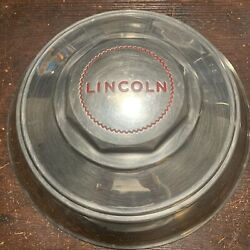 1946-1948 Lincoln 12 Od Oem Wheel Center Rim Hub Cap Lug Cover Stainless Ssr1