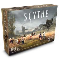 Scythe Competitive Strategy Historical Board Game Stonemaier Games Stm600