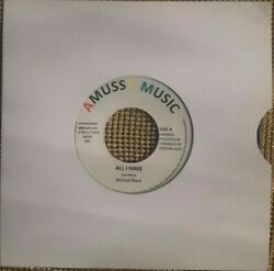 Michael black All I Have 7 Inch Vinyl Record roots reggae GBP 14.99