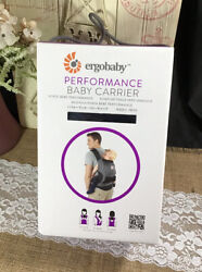 Auth Ergobaby Ergo Baby Performance Baby Carrier Bcp02500nl Black/charcoal New