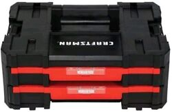 Tool Box Versastack System 17-in 2-drawer Red Plastic
