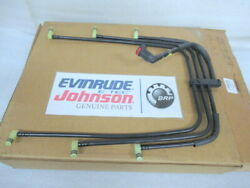 P1 Johnson Evinrude Omc 5000205 Fuel Manifold Assembly Oem New Factory Boat Part