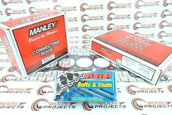Manley For Supra W/cometic 2jzgte 3.4pistons Rods And Arp Head Stud - 629000ce-6