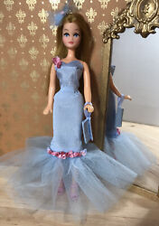 Spring Occasion Dress For 6.5 Inch Vintage Pippa Dawn. 5 Part Outfit. No Doll