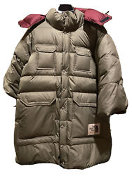 Guccixnorthface Olive Parka Puffer/ 100 Authentic/ Invite Only Items/ Very Rare