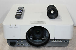 Canon Realis Wux6010 Lcos 6000 Lumen Projector W/ Rs-il02lz Long Throw Zoom Lens