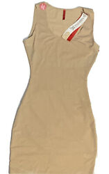 New Spanx Trust Your Thinstincts Tank Full Slip 1818 Size S Natural