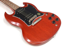 Gibson Sg Tribute Vintage Cherry Satin 0100 Matte Ships Safely From Japan