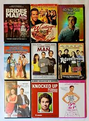 Bridesmaids 40-year-old Virgin Forgetting Sarah Marshall Knocked Up... 9 Dvds