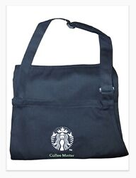 New Starbucks Black Coffee Master Apron Discontinued Collectable Mint Condition