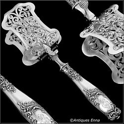 Ravinet D'enfert French Sterling Silver Asparagus Pastry Toast Server