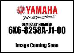 Yamaha Extension Wire Harn 6x6-8258a-j1-00 New Oem