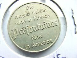 1961 France 1 Franc - French Wine Token -best Selling Wine