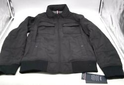 - Menand039s Water And Wind Resistant Jacket - Black - Size S