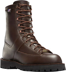 Danner Hood Winter Light Mens Brown Leather 8in 200g Gtx Snow Boots