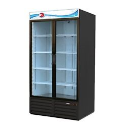 Fagor Refrigeration 54 Refrigerator Merchandiser With Hinged Double Glass Doors