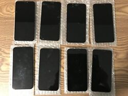 Lot Of 8 Apple Iphone11 Promax Oemoriginal Cracked Screens Good Lcd And Touch