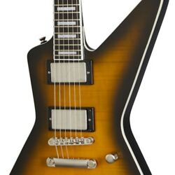 Epiphone Extura Prophecy Yellow Tiger Aged Gloss Perfect Packing From Japan