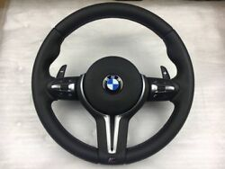 Bmw Steering Wheel With Pedals M5 F10 F11 F18 F06 F12 Whit Vibration Function