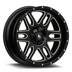 20 Black With Natural Accents Squadron 116 Wheel By Lrg Wheels 11621073924n