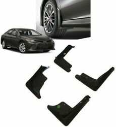 2018-2022 Camry And Camry Hybrid Mudguards | Le Xle Genuine Toyota Pu060-03180-tp
