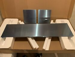 Aee60482ss 12 Wolf Duct Cover For 48 Wolf Gas Range Pro Island Hood-stainless