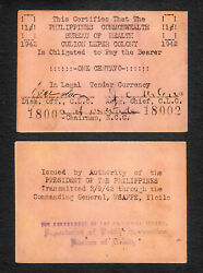 Philippines Culion Leper Colony Wwii Emergency Issue 1 Centavo 1942 S251 Au/unc