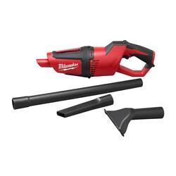 Milwaukee 0850-20 M12 18.5 Cordless Compact Vacuum Reusable Filter Tool Only