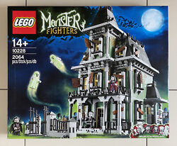 Lego Set 10228 - Haunted House - Monster Fighters - Rare - Nisb - New
