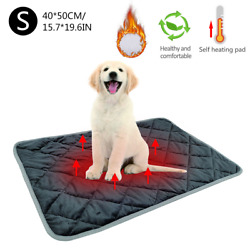 Pets Self Heating Pads Warm Cat Dog Bed Thermal Mat For Sofas Floors Pet Beds
