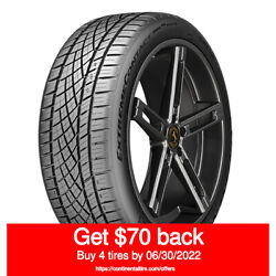 Continental Extremecontact Dws06 Plus 275/40zr20xl 106y Quantity Of 4