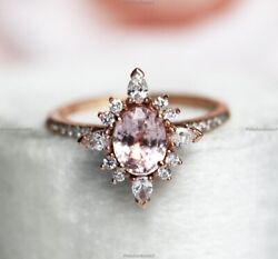 14k Yellow Gold Sapphire Diamond Vintage Style Crown Engagement Ring For Women