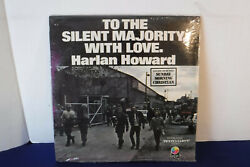 Harlan Howard, To The Silent Majority With Love, Nugget Nrlp 105, 1971 Sealed