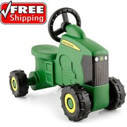Kids Ride On Tractor Toys For 1 2 3 Year Old Toddlers John Deere Scooter Boys