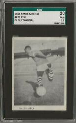 1961 Rm De Mexico 223 Sgc 1.5 - Rare No Graded Psa / Bgs - Near Rookie Yr- Rc