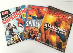 Spiderman Magazines Lot 3 Empire 2004 Ultimate Guide 2019 Life Rise 2018 📕