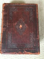 Practical And Devotional Family Bible 1864, Henry And Scott, Mcfarlane Pub Collins