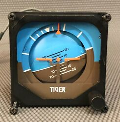 Sigma Tek 1u367 Attitude Indicator With Backlight Used / Working When Removed