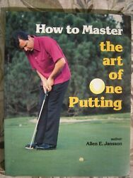 1983 Putting Book W/illustrations +++ 1 60 Min Phone Skype Lesson Included