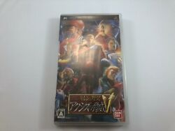 Mobile Suit Gundam - Ghirenand039s Greed Threat Of Axis V Sony Psp Japan Import