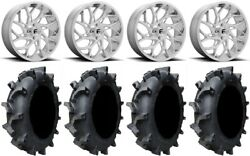 Fuel Runner 20 Wheels Polished 35 Interforce 628 Tires Can-am Maverick X3