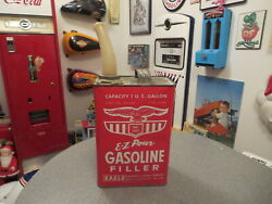 Vintage Gasoline Filler Gas Can With Spout By Eagle