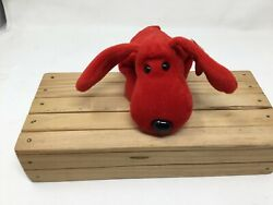 Rare Rover Ty Beanie Baby Red Dog Retired Style 4101 Pvc Pellets Free Shipping