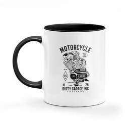 Full Speed Engine Motor Vintage Mug Coffee Soup Retro Office Gift